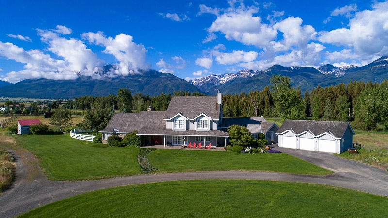Spectacular Country Home on 48 Acres with Wallowa River Frontage!